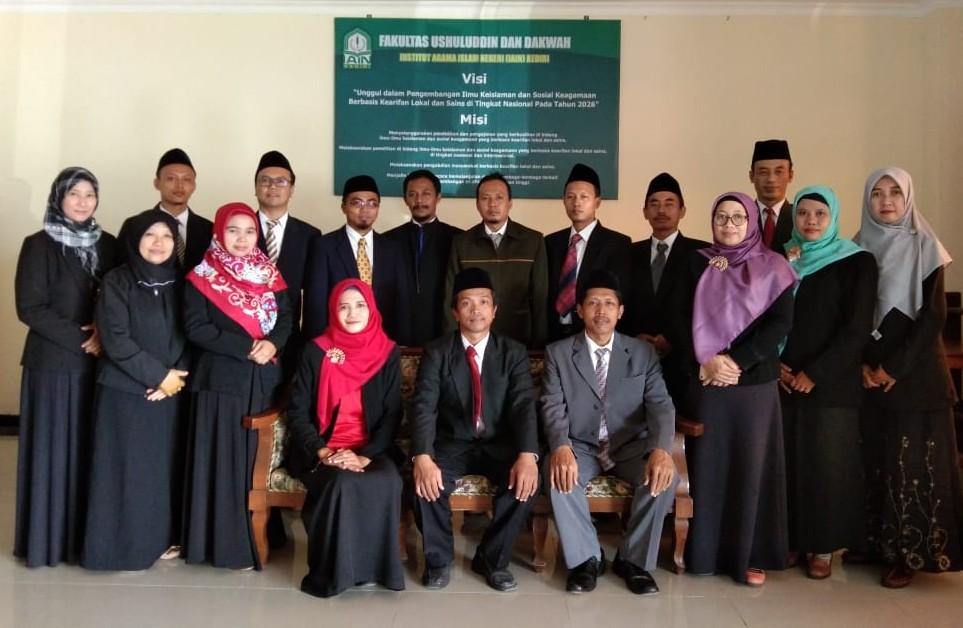 Pengelola Fakultas Ushuluddin dan Dakwah